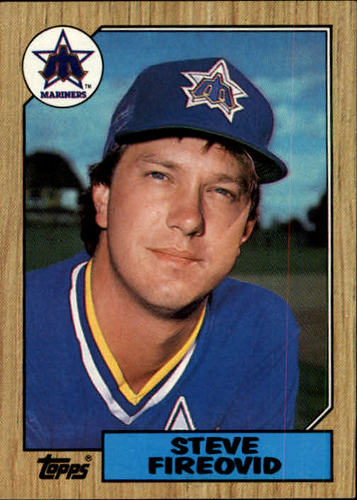 Photo of 1987 Topps #357 Steve Fireovid
