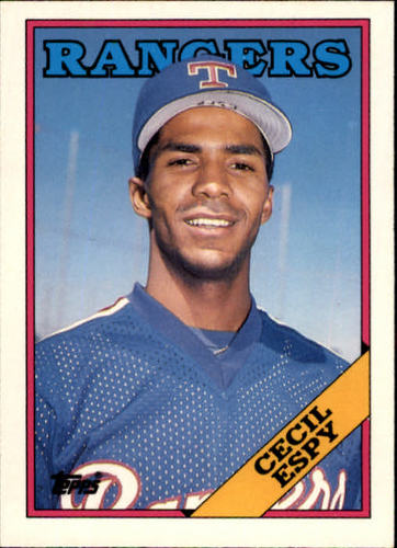 Photo of 1988 Topps Traded #36T Cecil Espy XRC