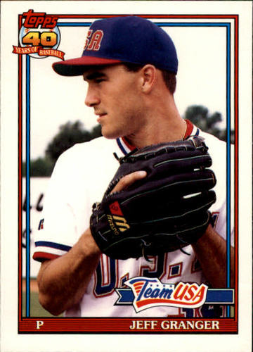 Photo of 1991 Topps Traded #49T Jeff Granger USA RC