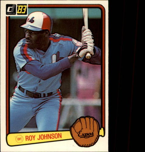 Photo of 1983 Donruss #492 Roy Johnson