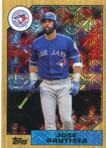 Photo of 2017 Topps '87 Topps Silver Pack Chrome #87JBU Jose Bautista S2