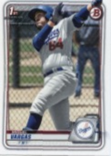 Photo of 2020 Bowman Prospects #BP131 Miguel Vargas