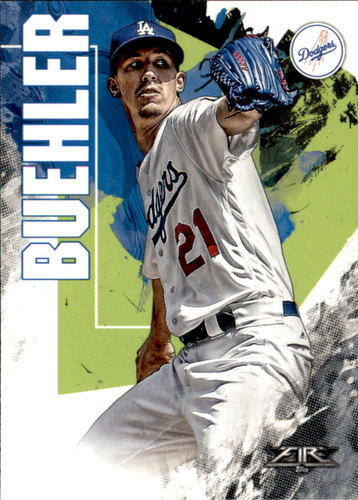 Photo of 2019 Topps Fire #89 Walker Buehler