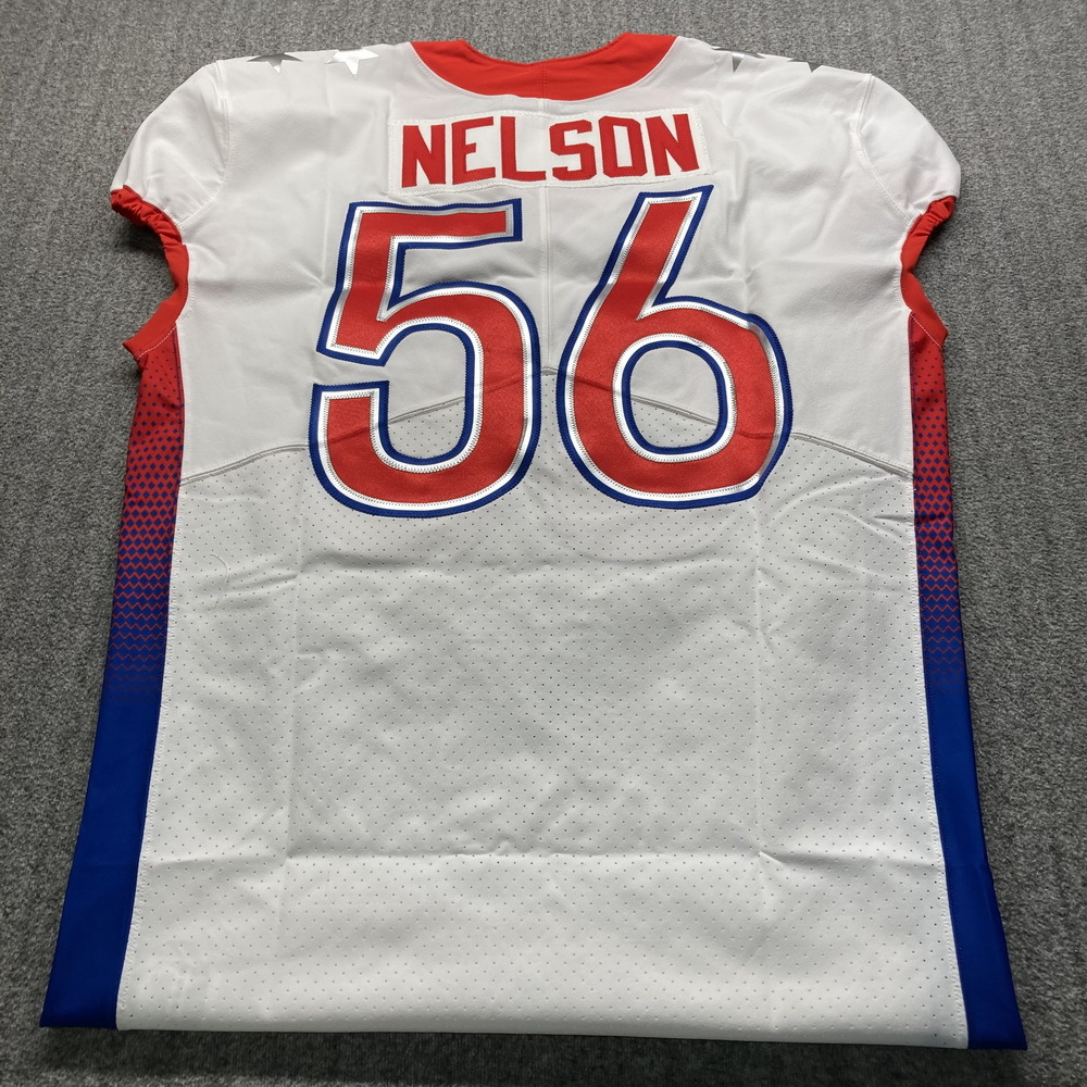 NFL - Colts Quentin Nelson Special Issued 2021 Pro Bowl Jersey Size 48