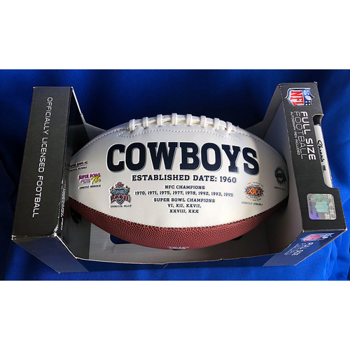 UMPS CARE AUCTION: Tony Romo Signed Cowboys Football