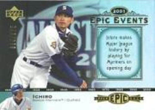 Photo of 2006 Upper Deck Epic Events #EE62 Ichiro Suzuki