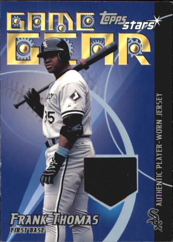 Photo of 2001 Topps Stars Game Gear Jerseys #TSRFT Frank Thomas A