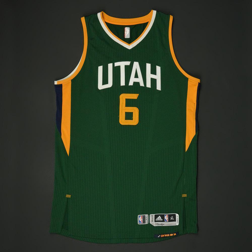 0f53af0bf7a Joe Johnson - Utah Jazz - New Alternate Game-Worn Jersey - 2016-17 ...