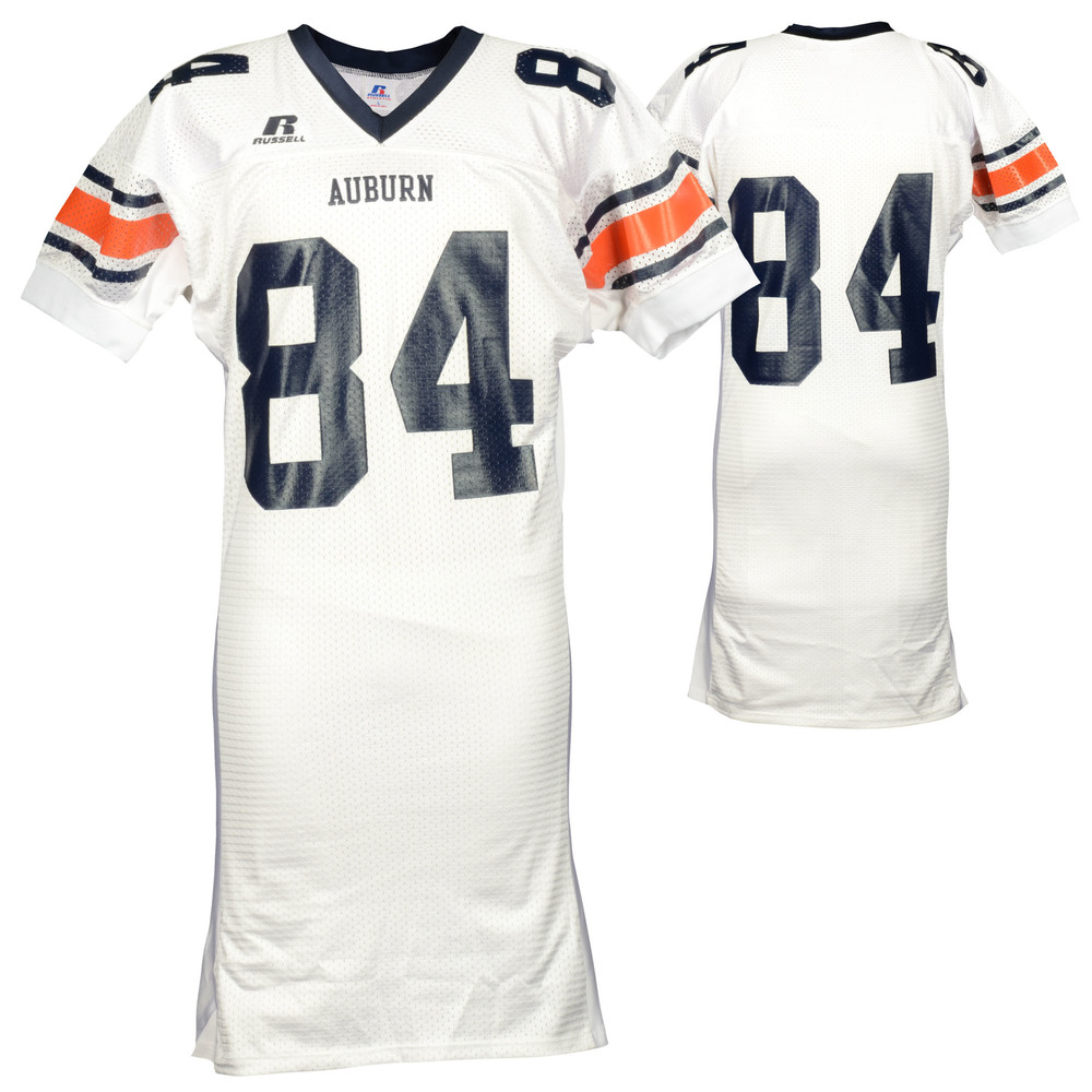 Auburn Tigers Game-Used 2003-2005 Russell White Football Jersey #84 Size L