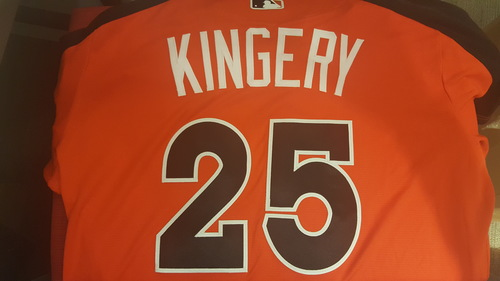 Scott Kingery Game-Used 2017 Futures Game Jersey