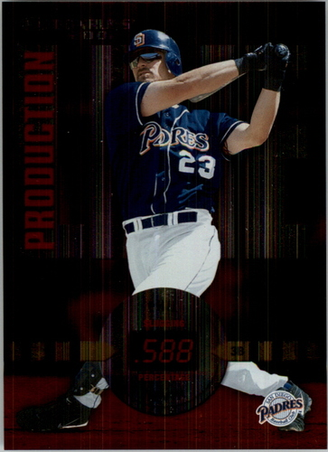 Photo of 2002 Donruss Production Line #37 Phil Nevin SLG/488