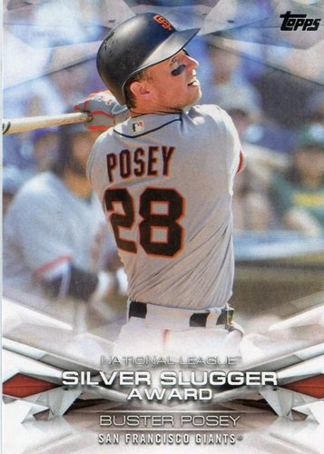 Photo of 2018 Topps MLB Awards #MLBA32 Buster Posey
