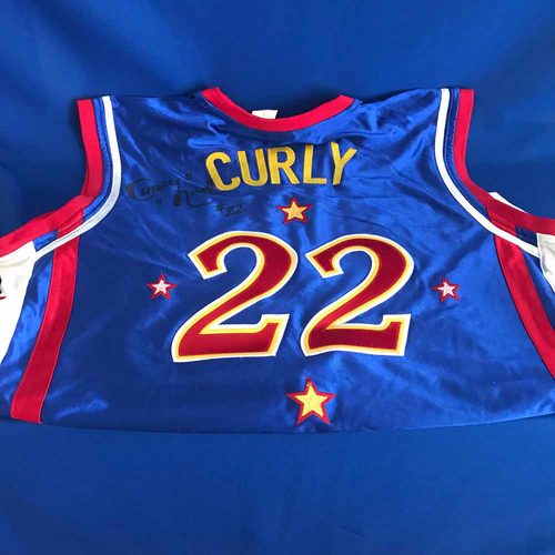 Photo of UMPS CARE AUCTION: Harlem Globetrotters Signed Curly Neal Jersey - Not MLB Authenticated