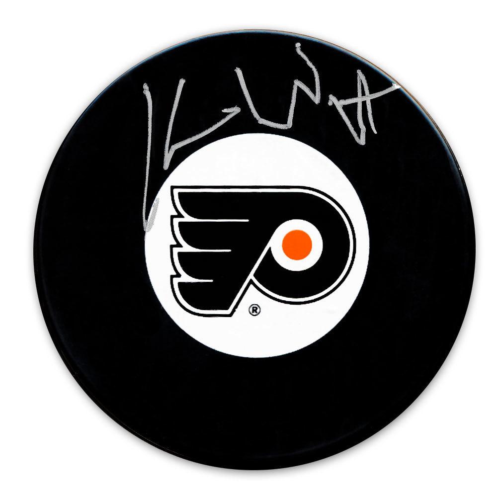 Ken Wregget Philadelphia Flyers Autographed Puck