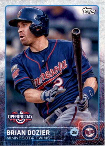 Photo of 2015 Topps Opening Day #89 Brian Dozier