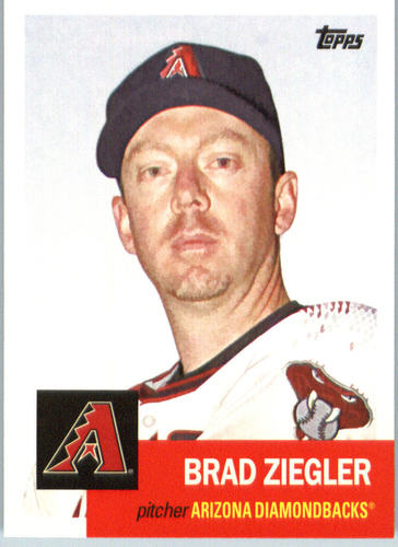 Photo of 2016 Topps Archives #64 Brad Ziegler