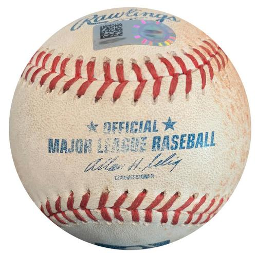 Photo of Game-Used Baseball from Pirates vs. Mets on 6/26/14 - Gregory Polanco Single - 23rd Career Hit