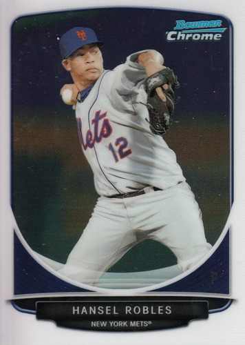 Photo of 2013 Bowman Chrome Prospects #BCP31 Hansel Robles