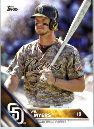 Photo of 2016 Topps #625A Wil Myers