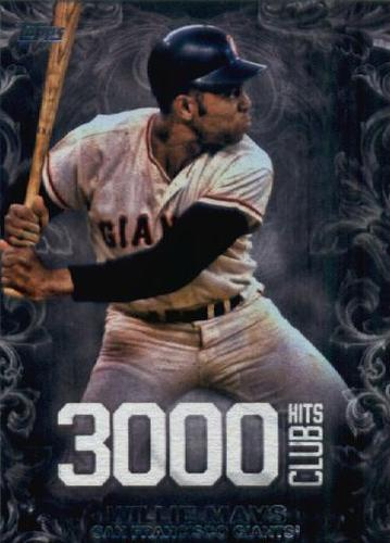 Photo of 2016 Topps Update 3000 Hits Club #3000H7 Willie Mays