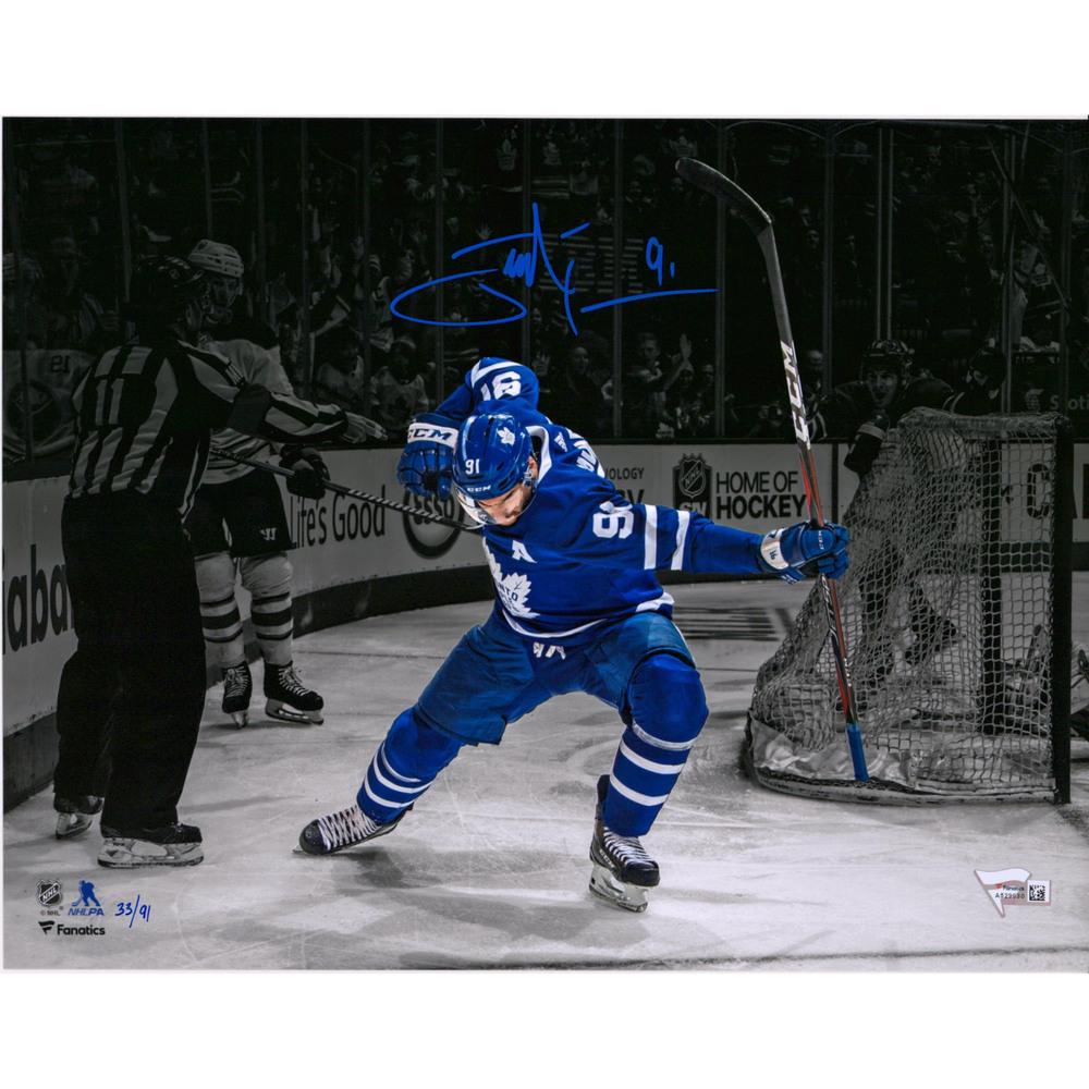 John Tavares Toronto Maple Leafs Autographed 11