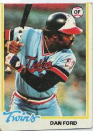 Photo of 1978 Topps #275 Dan Ford