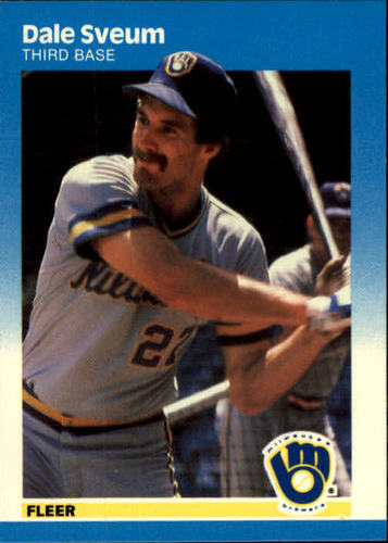 Photo of 1987 Fleer #358 Dale Sveum
