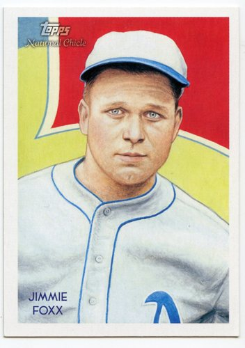 Photo of 2010 Topps National Chicle #230 Jimmie Foxx