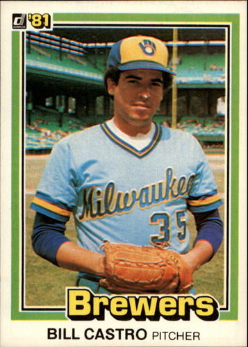 Photo of 1981 Donruss #578 Bill Castro