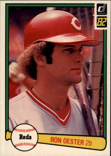 Photo of 1982 Donruss #500 Ron Oester