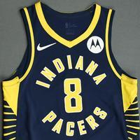 Justin Holiday - Indiana Pacers - Game-Worn Icon Edition Jersey - NBA India Games - 2019-20 NBA Season