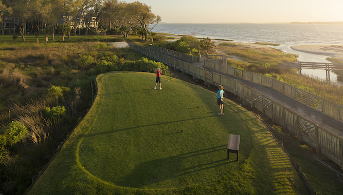 HAIG POINT IN SOUTH CAROLINA + VIRTUAL GOLF LESSON WITH GOLF PRO