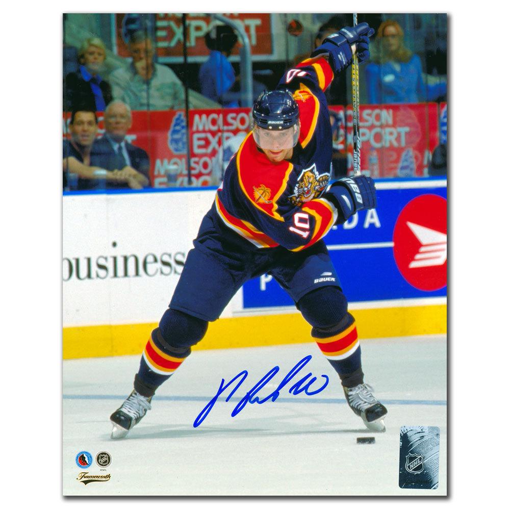Pavel Bure Florida Panthers SLAPSHOT Autographed 8x10