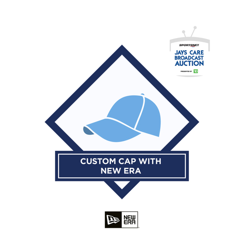 Photo of 2021 Broadcast Auction: Custom Cap With New Era
