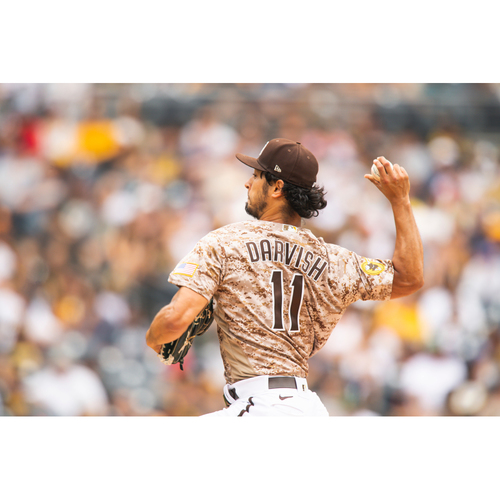 Photo of PRE-SALE: Yu Darvish MLB Authenticated (Game-Used or Team-Issued) Autographed Jersey