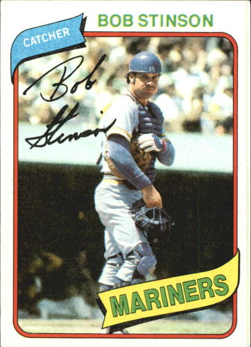 Photo of 1980 Topps #583 Bob Stinson