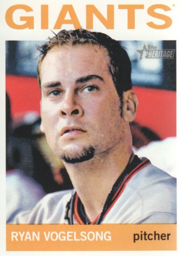 Photo of 2013 Topps Heritage #280 Ryan Vogelsong