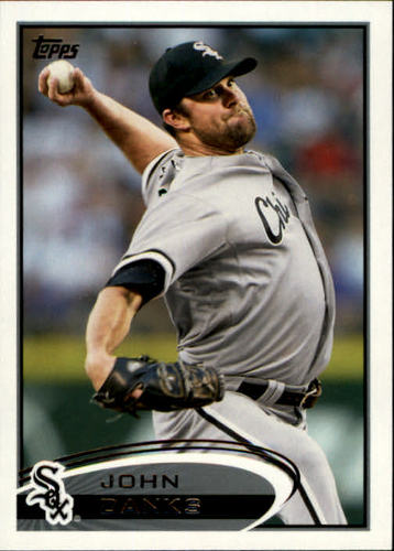 Photo of 2012 Topps #311 John Danks