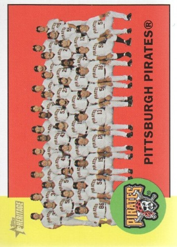 Photo of 2012 Topps Heritage #151 Pittsburgh Pirates TC