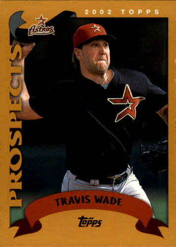 Photo of 2002 Topps #320 Travis Wade PROS RC