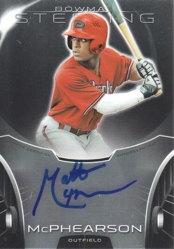 Photo of 2013 Bowman Sterling Prospect Autographs #MM Matt McPhearson