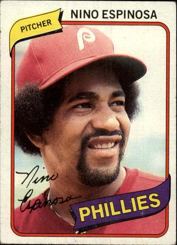 Photo of 1980 Topps #447 Nino Espinosa