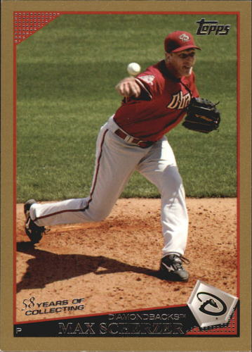 Photo of 2009 Topps Gold Border #224 Max Scherzer