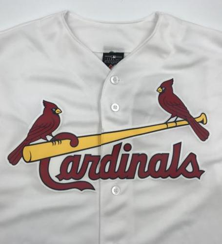 Photo of St. Louis Cardinals Unsigned Replica Jersey - Adult Large