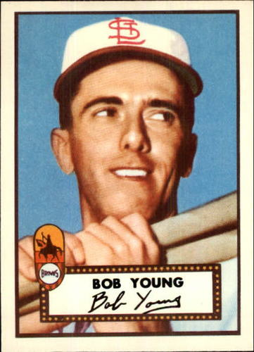 Photo of 1983 Topps 1952 Reprint #147 Bob Young