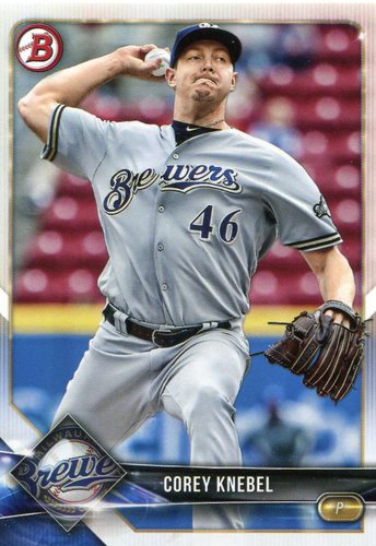 Photo of 2018 Bowman #15 Corey Knebel
