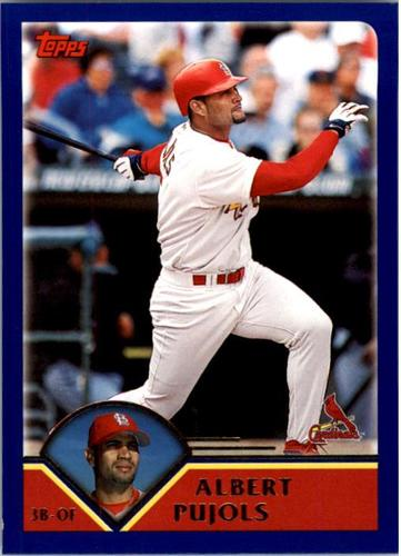 Photo of 2003 Topps #200 Albert Pujols