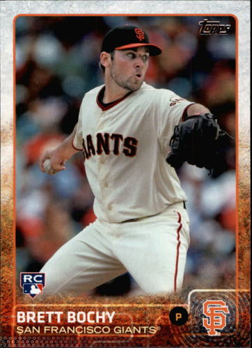 Photo of 2015 Topps #690 Brett Bochy RC