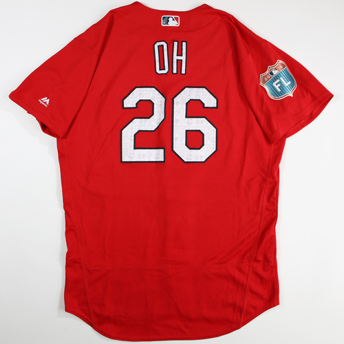 Photo of 2016  Spring Training -  Game-Used Jersey - Seunghwan Oh (Cardinals) - Size 46
