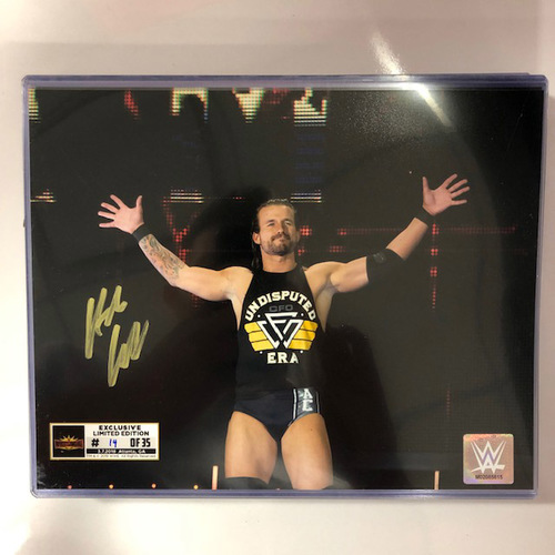Photo of Adam Cole SIGNED WrestleMania 35 Superstore Exclusive Photo (Random Number)